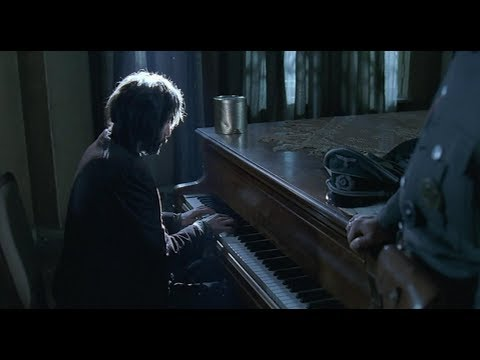 Best Scene of The Pianist By Roman Polanski With Adrien Brody (HD)