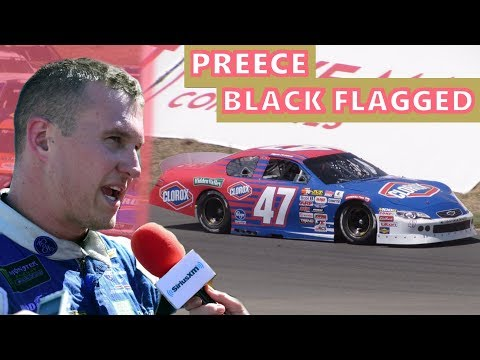 Ryan Preece Black Flagged At Sonoma: A Teardown