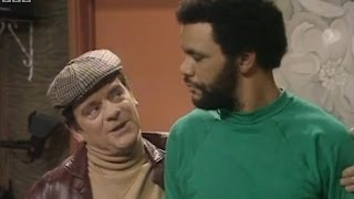 Del Boy Offers to Paint Denzil's Flat - Only Fools and Horses - BBC