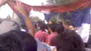 Iranian Protesters Burning Flag Of Russia