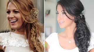 Blake Lively Boho Hair - YouTube