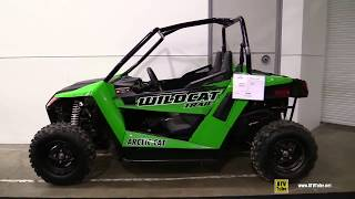 5. 2015 Arctic Cat Wildcat Trail Side by Side ATV - Walkaround - 2016 Toronto ATV Show