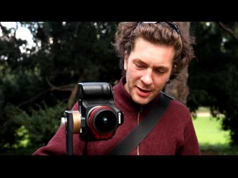 Using a fisheye lens/ panoramic tripod head to shoot a 360° spherical Panorama