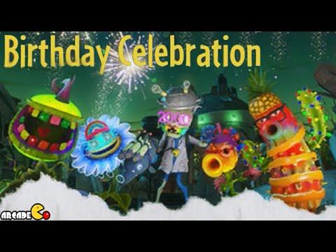 Plants Vs. Zombies: Garden Warfare – Birthday Celebration – Special Birthday Challenge!