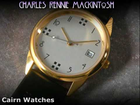 Sublime Charles Rennie Mackintosh watches by Cairn Scotland M47SGDG