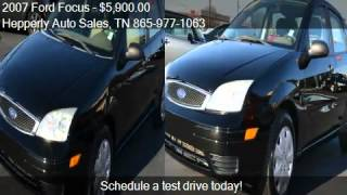2007 Ford Focus ZX4 S 4dr Sedan for sale in Maryville, TN 37