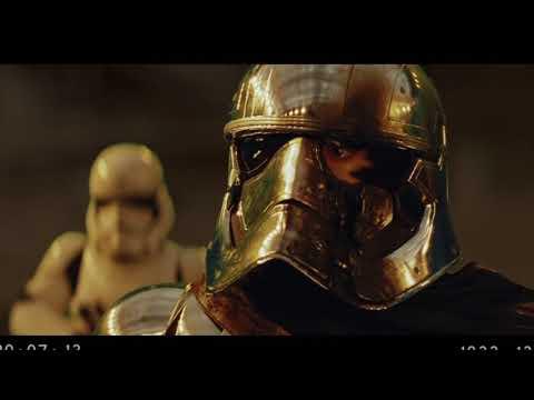 Star Wars - Finn Vs Captain Phasma Full Scene