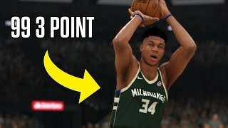 What If Giannis Antetokounmpo Could Shoot Like Stephen Curry? | NBA 2K20