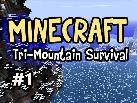 Minecraft: Tri-Mountain Survival Ep.1 w/Nova - Choose a Mountain! Video