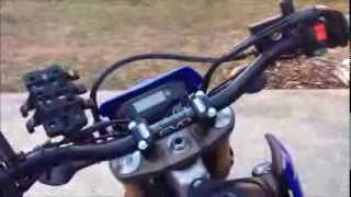 4. Yamaha WR250R ProTaper EVO handlebar install and review