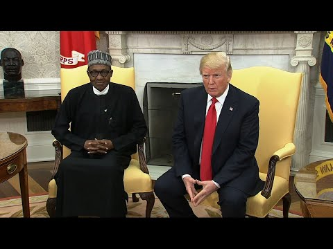 Trump Welcomes Nigerian President to White House
