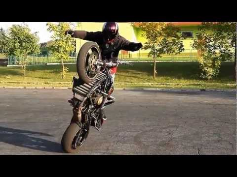 trucos en moto