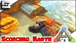 ARK: Scorched Earth - SCORCHED ADOBE GREENHOUSE! E16 ( Scorched Earth Map Gameplay )