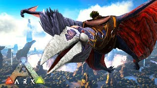 Taming a Quetzal in ARK: Survival Evolved Ragnarok! ARK Survival Evolved gameplay episode 15 with Typical Gamer!
