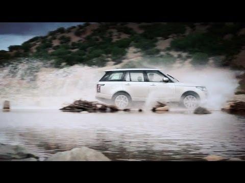 Land Rover Range Rover Тест-драйв Range Rover Autobiography 2013 // АвтоВести 79