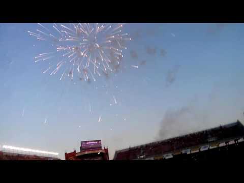 La Banda más loca de Argentina - recibimiento de independiente vs banfield - La Barra del Rojo - Independiente