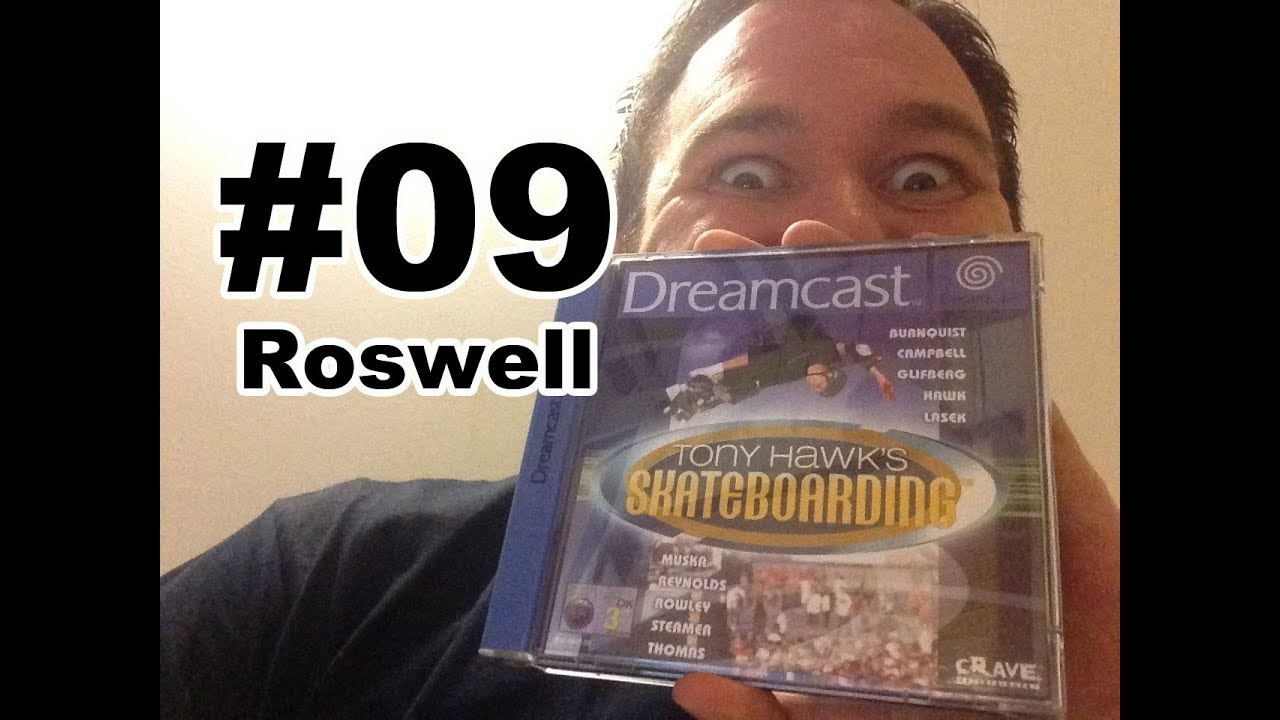 #09 Tony Hawk's Pro Skater – Roswell (Speedy Renton Let's Play)