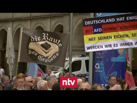 Dresden: Kanzlerin Merkel erlebt in Sachsen gespalten ...