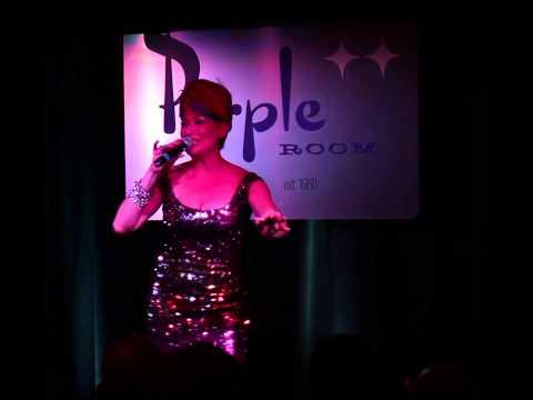 Morganne Picard singing Besame Mucho in Palm Springs