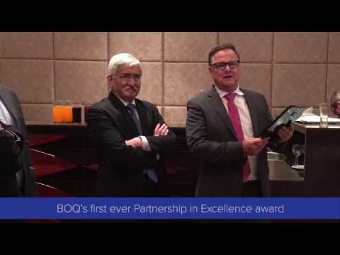 BOQ recognizes Nucleus Software - Partnership in Excellence award