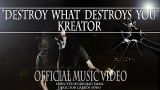 Kreator - Destroy what destroys you (Official  Video)