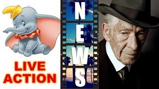 Disney's Live Action Dumbo, Ian McKellen is Sherlock Holmes in Mr Holmes 2015 - Beyond The Trailer