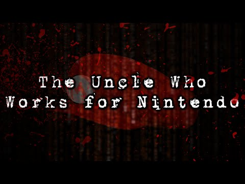 text - Welcome to the Uncle Who Works for Nintendo. A Text based Horror Game that is...weird, creepy, and to be honest, a bit of Nostalgic. This is a bit different from what we do on the channel,...