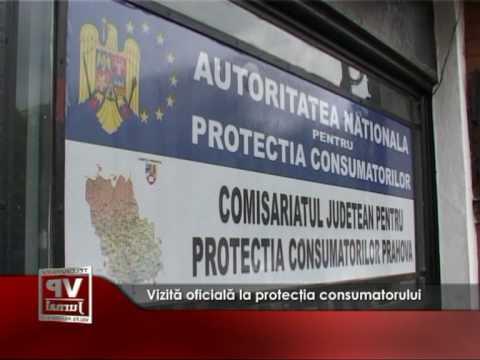 Vizită oficială la protecţia consumatorului