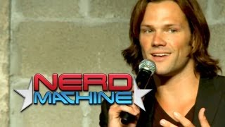 Download Lagu Conversation with Jared Padalecki - Nerd HQ (2012) HD - Zachary Levi Mp3