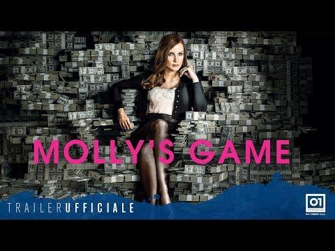 Preview Trailer Molly's Game, trailer italiano ufficiale
