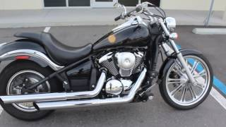4. SOLD! 2007 KAWASAKI VULCAN 900 CUSTOM START UP AND WALK AROUND FOR SALE