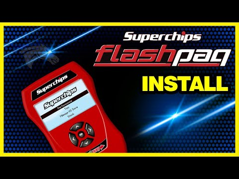 Superchips Flashpaq Install – 2005 Dodge Cummins #3840