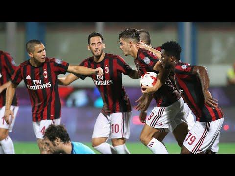 Shkendija vs Ac Milan 0-1 All Goals & Highlights 27 Juli 2017