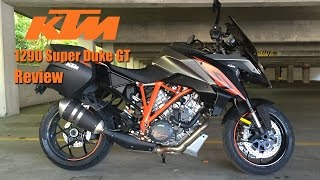 6. KTM 1290 Super Duke GT Review