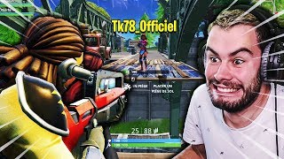 LE PRANK DU PONT A THEKAIRI78 SUR FORTNITE BATTLE ROYALE !!!
