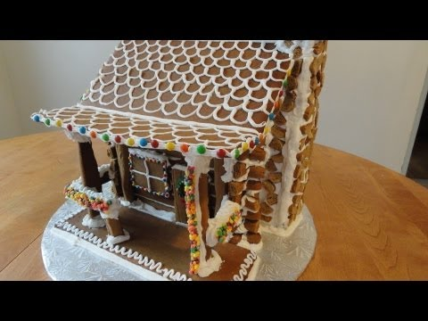 Gingerbread Log Cabin Part 1