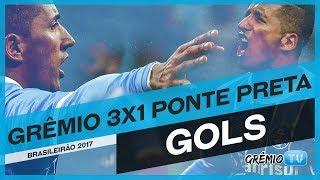 Confira os gols da vitória do Tricolor sobre a equipe da Ponte Preta por 3x1, os gols foram marcados por Rafael Thyere (Contra),...