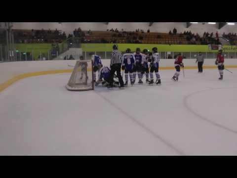 Phantoms v Basingstoke Telford Ice Hockey Tournament Game 2 10 6 2017
