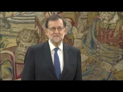 Mariano Rajoy jura como Presidente del Gobierno
