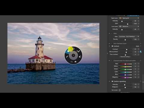 Editing with DxO Photloab - Lighthouse at Navy Pier