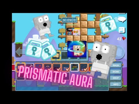 How To Make Prismatic Aura + Insane Profit Growtopia