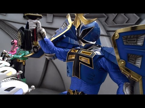 Power Rangers Super Samurai - The Master Returns - Megazord Fight | Power Rangers Official