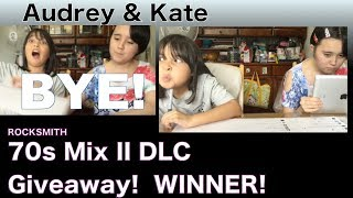 Thank you so much for all the comments!! Here is the WINNER of the recent ROCKSMITH 70s mix II DLC Giveaway for STEAM. CONGRATULATIONS!!! Please send us a private message via YOUTUBE or Twitter. Thanks so much for watching!沢山のコメントありがとうございました!ロックスミス 70s mix II DLC当選者の発表です!当選者の方はYOUTUBEまたはTwitterにてメッセージをください。コードを差し上げます。Thanks so much for watching!!