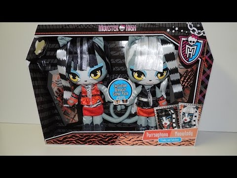 Monster High Exclusive Werecat Sister Pack Plush Dolls by WookieWarrior23