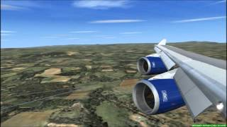 Aldergrove United Kingdom  city photos gallery : BRITISH AIRWAYS BOEING 747-400 LANDING @ BELFAST ALDERGROVE FSX HD