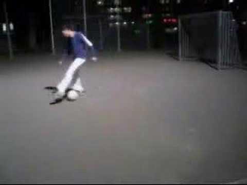 'Freestyle', fútbol de malabares