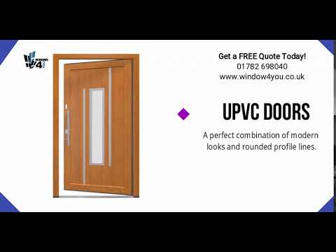 uPVC doors are both durable and affordable, making it a popular choice - Windows4you