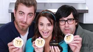 Download Youtube: BOMBERMAN CUPCAKES - ft. Rhett and Link! - NERDY NUMMIES