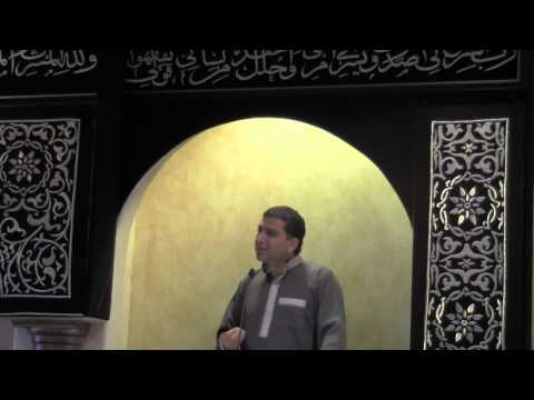OCIF Khutbah By Dr.Ahmed Soboh 08/02/2013