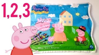 Counting to 10 and Learning Colours with Peppa Pig